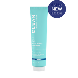 CLEAR Extra Strength Daily Skin Clearing Treatment with 5% Benzoyl Peroxide