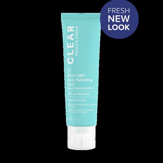 CLEAR Ultra-Light Hydrating Fluid SPF 15