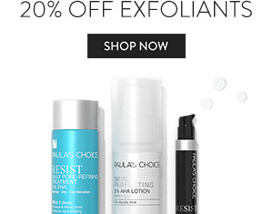 20% Off Exofliants. Shop Now.
