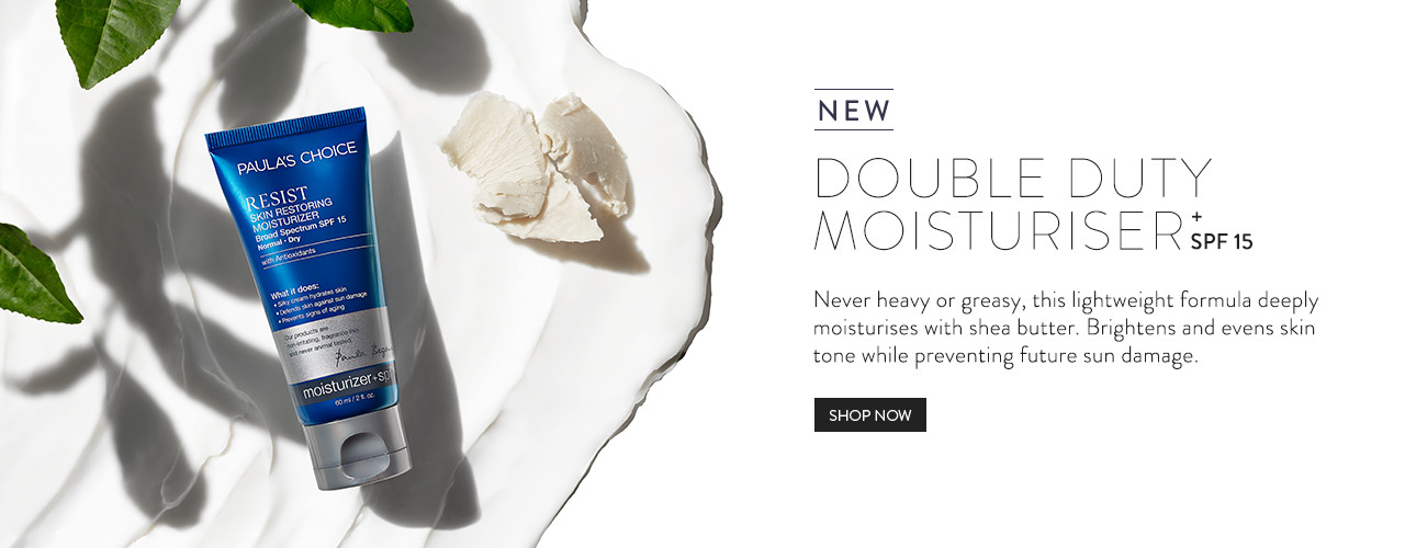 NEW - RESIST Skin Restoring Moisturizer SPF 15