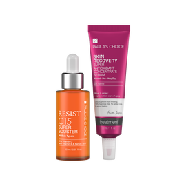 RESIST C15 Super Booster + SKIN RECOVERY Super Antioxidant Concentrate Serum with Retinol