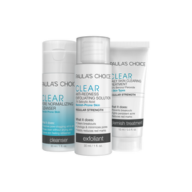 CLEAR Regular Strength Two Week Travel Kit