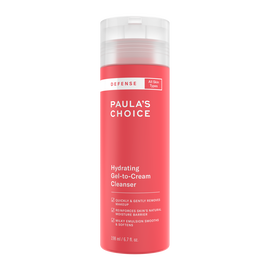 DEFENSE Hydrating Gel-to-Cream Cleanser