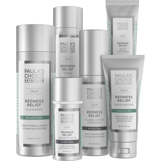 CALM Redness Relief Kit for Normal to Dry Skin