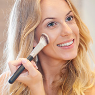 Touching Up Sunscreen with Makeup
