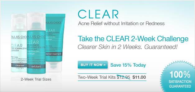 Clearer Skin in 2 Weeks. Guaranteed! [Buy It Now]