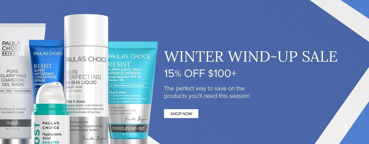 Winter Wind-Up Sale. Shop Now.